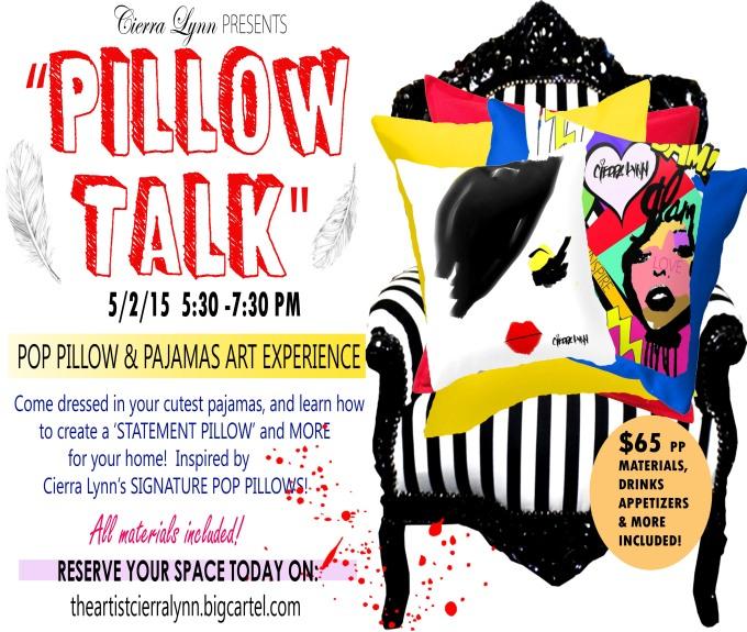 pillow talk joes