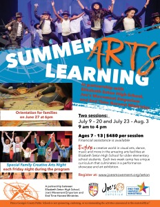 Summer Arts Learning At Elizabeth Seton High School